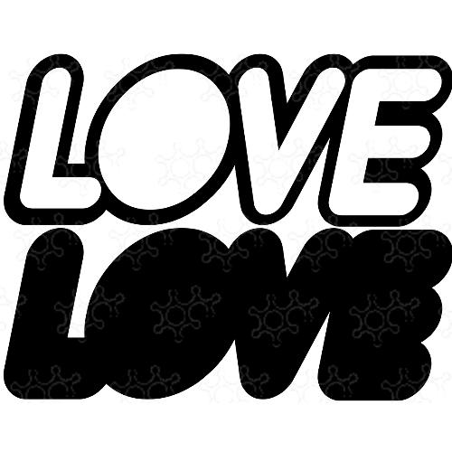 Porta confetti LOVE