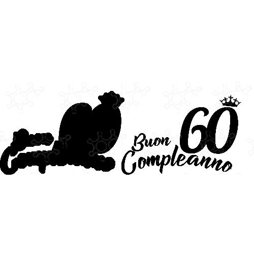 Buon Compleanno 60