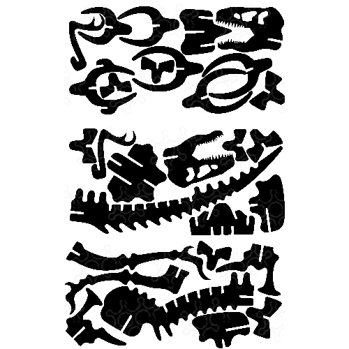 TREX puzzle 3D