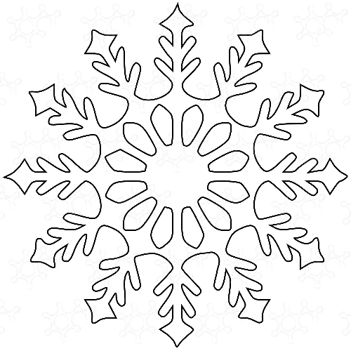 fiocco di neve 10