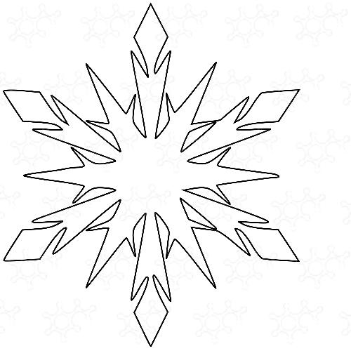 fiocco di neve 12