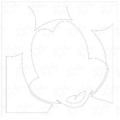 Topolino quadro 50x50