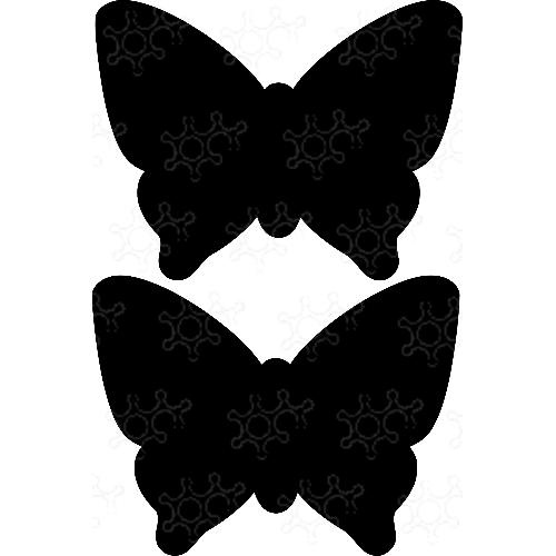 Portaconfetti farfalla