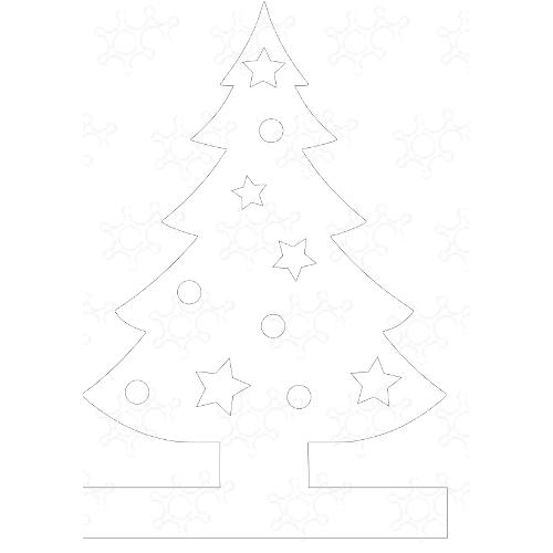 Albero di Natale con luci