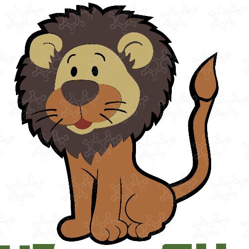Leone tema safari