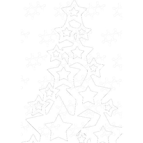 albero con stelle