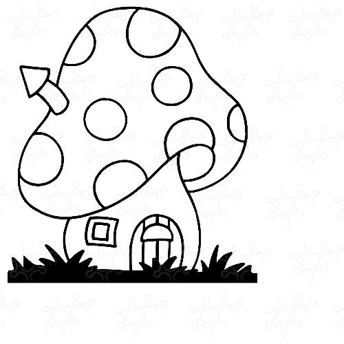 casa dello gnomo (fungo)