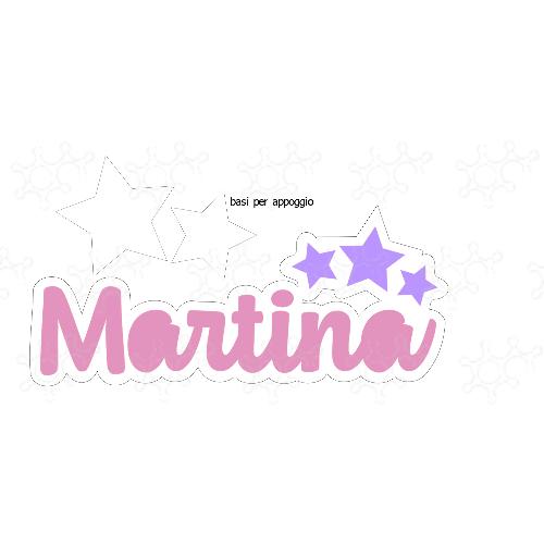 Nome Martina con stelle