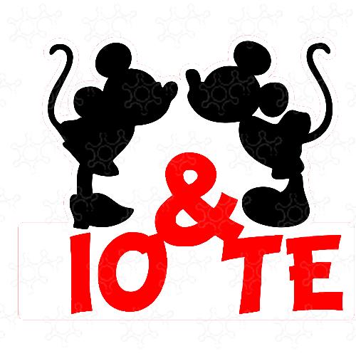 Io & Te Minnie Topolino