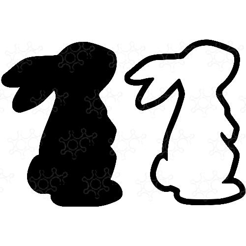 Porta confetti coniglietto pasquale