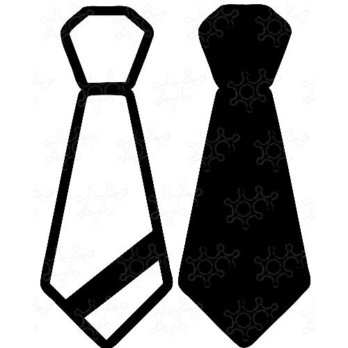 Porta confetti cravatta