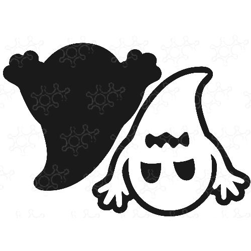 Porta confetti fantasma