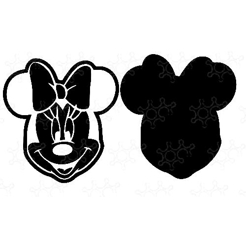 Porta confetti Minnie
