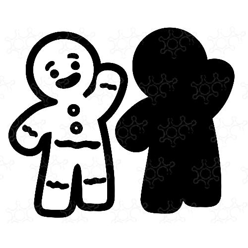 Porta confetti biscotto pan di zenzero
