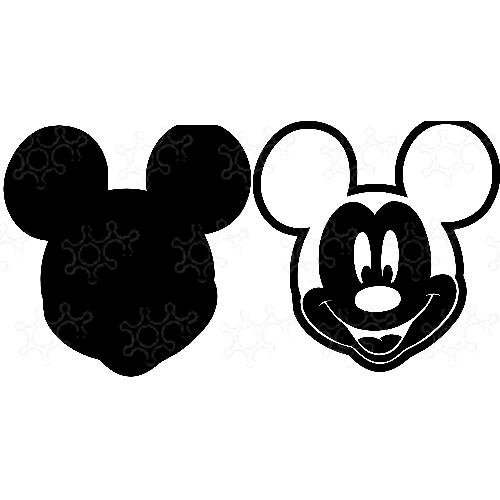 Porta confetti topolino