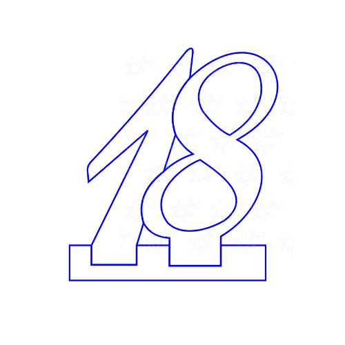 18 con base