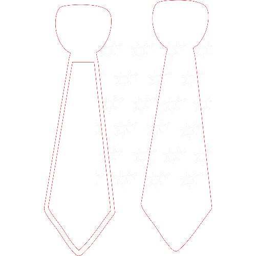 Cravatta porta confetti