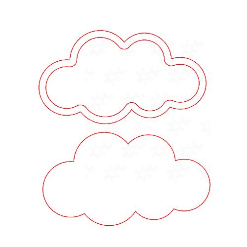 Nuvola porta confetti