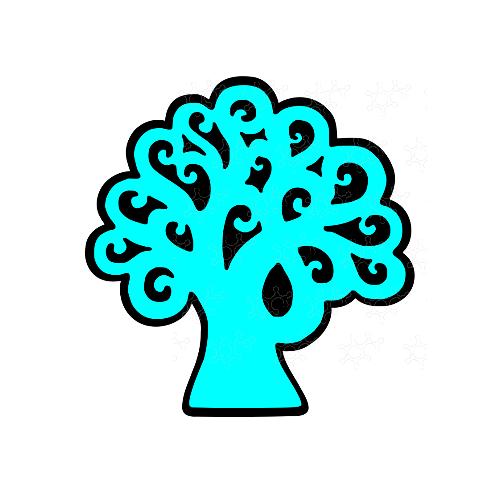 Confettiera albero della vita