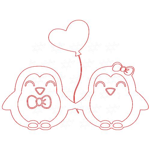 Pinguini innamorati