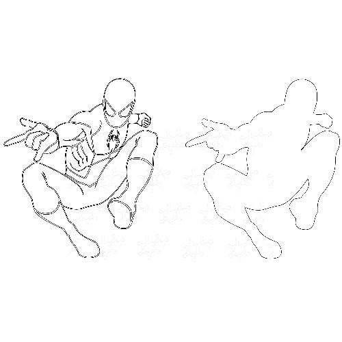 Sagoma Spiderman